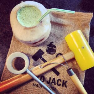 Coco Jack Opens Coconuts Easily by Absolique Trichologist