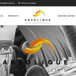 New Website Launch, Hair Loss Treatments by Absolique